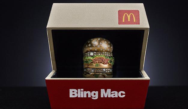 McDonald's quiere que lleve un anillo con forma de Big Mac en San Valentín