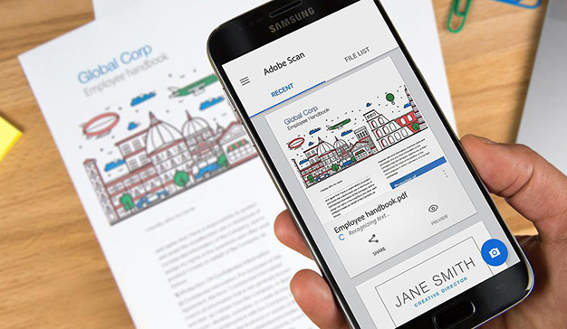 Estas son las nuevas funcionalidades de Adobe Scan