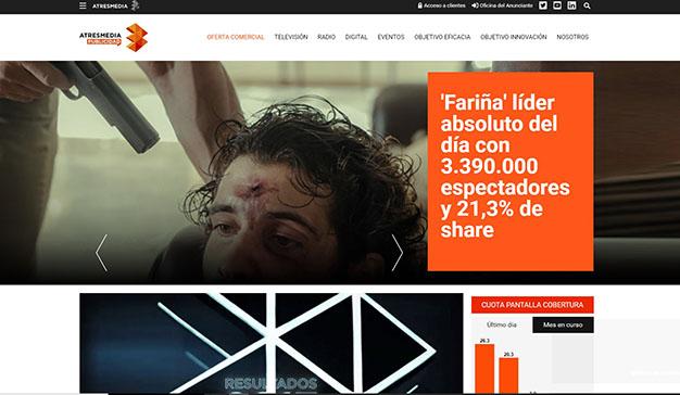 Atresmedia Publicidad presenta su nueva página web