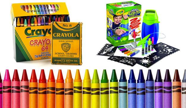 Crayola, coloreando el corazón del consumidor durante más de un siglo