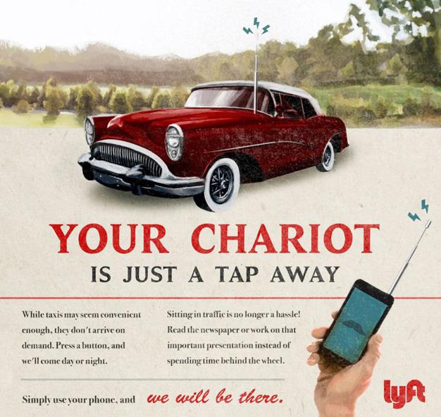 5 marcas actuales reimaginadas en anuncios vintage