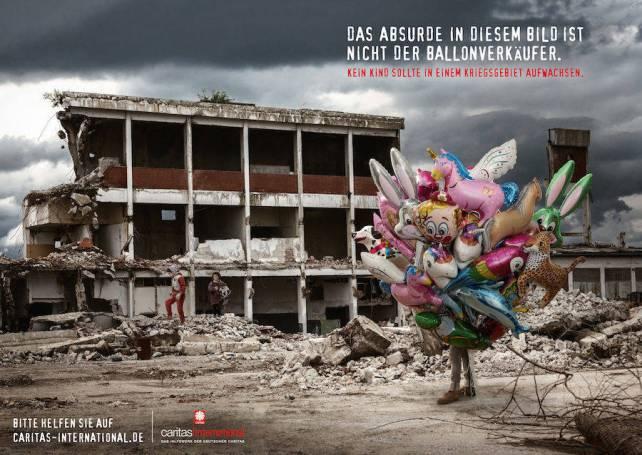 Esta campaña de Cáritas apela a lo absurdo para arrancar de cuajo el corazón al espectador