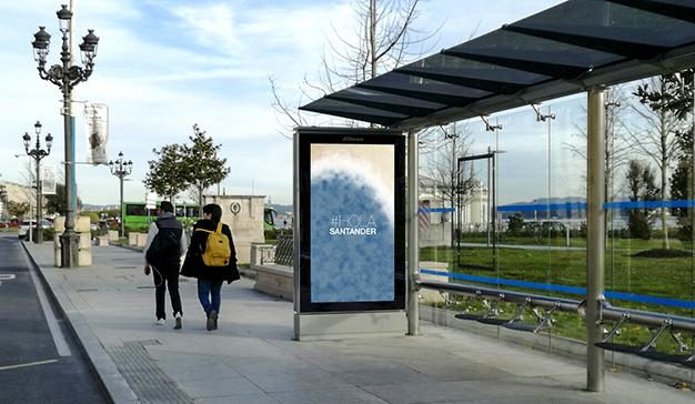 JCDecaux continúa con la digitalización de Exterior con nuevas pantallas en Santander
