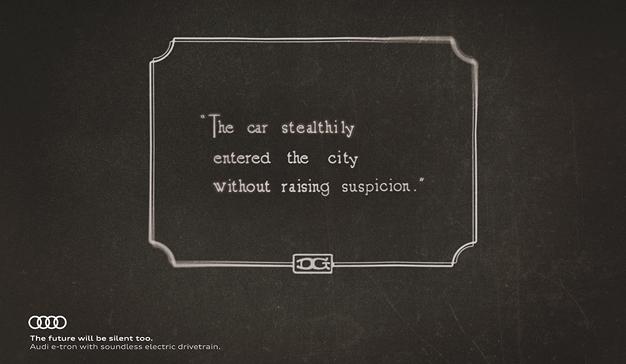 Audi se sirve del cine mudo para presentar la última tecnología de sus vehículos
