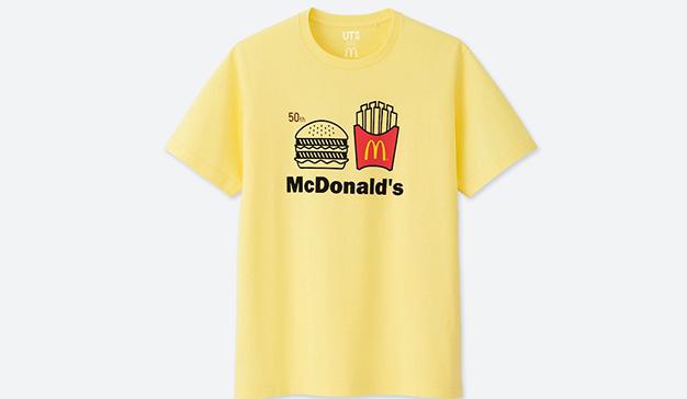 Uniqlo y McDonald's celebran el 50º aniversario del Big Mac con esta línea de camisetas