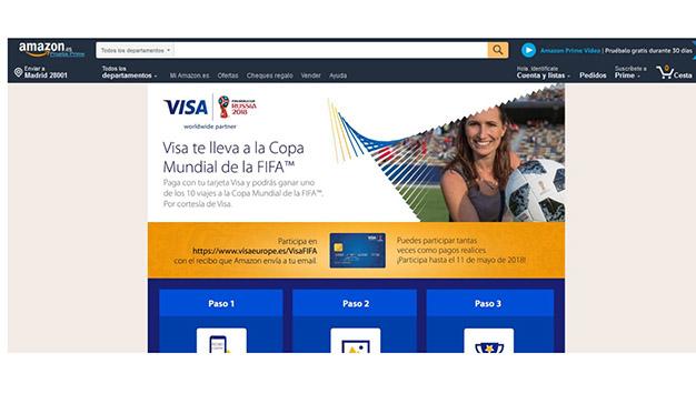 Visa y Starcom cierran un acuerdo pionero con Amazon para acelerar el ecommerce