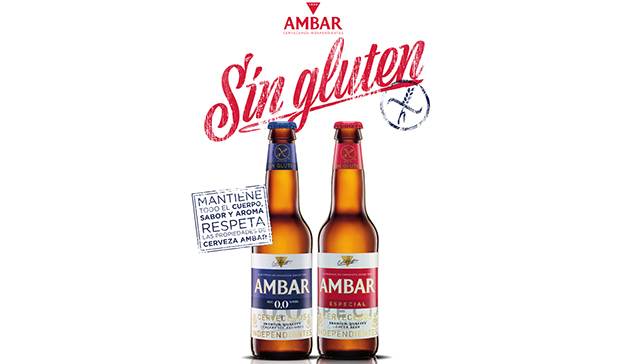 La cerveza Ambar Especial Sin Gluten cumple 10 años