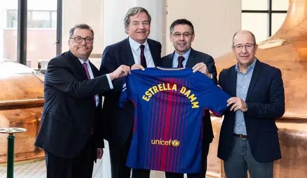Estrella Damm se convierte en nuevo Global Partner del FC Barcelona