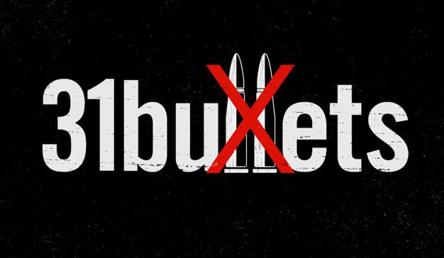 """""""31 bullets"""" conciencia sobre el control de armas poniéndolas en manos de profesores"""