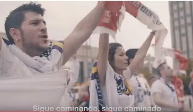 Aficionados del Real Madrid y del Liverpool unidos para apoyar la investigación de cáncer