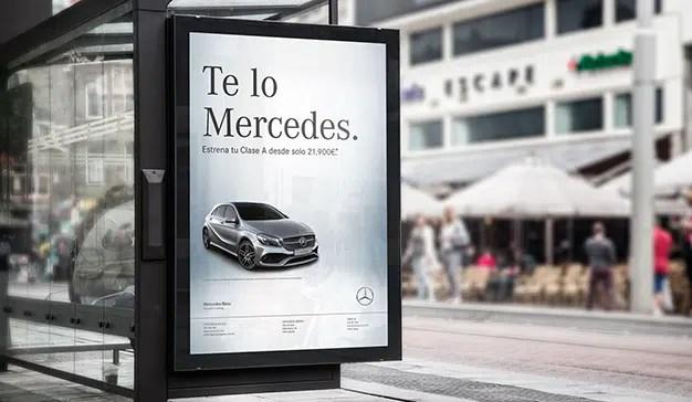 """La Agencia Avantine gana en Los Ángeles un WINA por la campaña de """"Te lo Mercedes"""""""