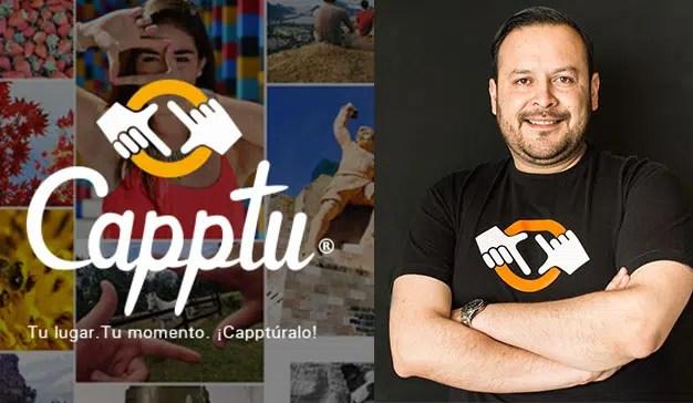 Capptu, publicidad con imágenes reales
