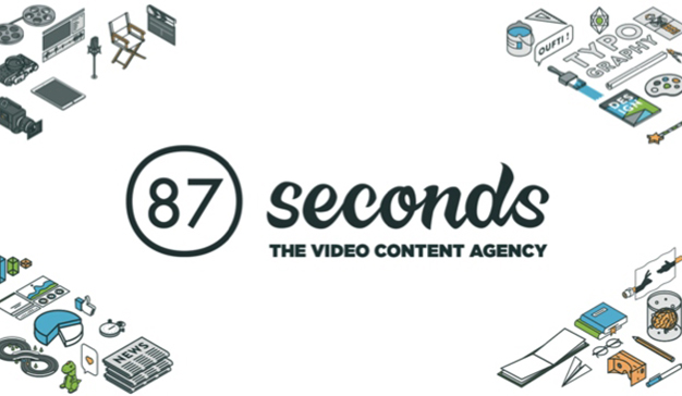 87 seconds analizó la mejor manera de crear contenido en  vídeo en DES2018