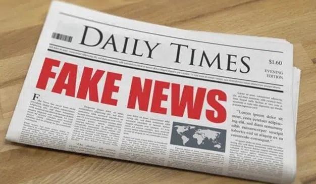 Las noticias falsas se