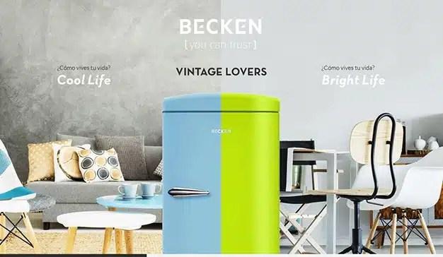 Worten presenta su nueva gama de frigoríficos para los amantes de lo Vintage