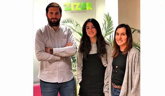 La agencia ZIZER aumenta su equipo con tres nuevas incorporaciones