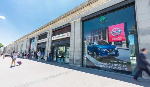 """Nissan apuesta por la """"movilidad inteligente"""" con una acción especial de marca en Nuevos Ministerios"""