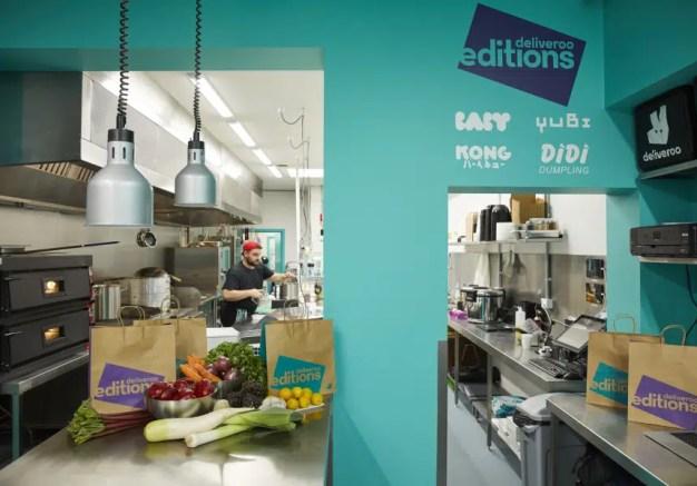 Deliveroo Editions aterriza en París con 12 cocinas compartidas