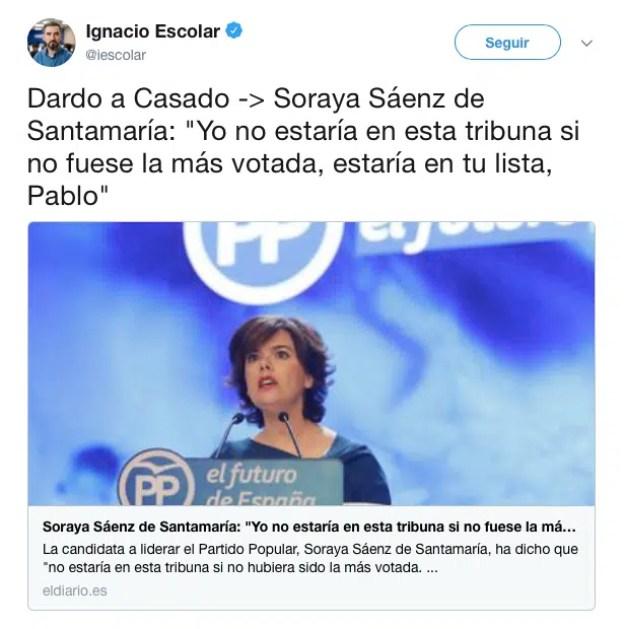 Pablo Casado lidera Twitter, con 156.000 menciones, durante la celebración del Congreso del PP