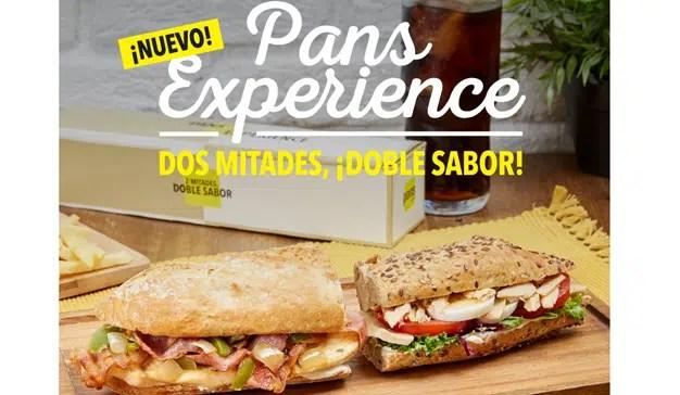 "Pans & Company lanza ""Pans Experience"", dos mitades, doble sabor"
