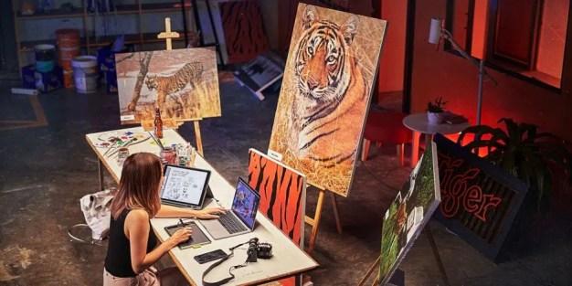 Kenzo y WFF suman fuerzas creando una colección muy felina para concienciar sobre la reducción de la población de tigres