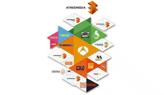 ATRESMEDIA, el grupo audiovisual que más crece en internet