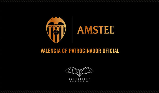 """""""TORNEM A FER POR"""": Amstel se convierte en nuevo patrocinador del Valencia CF"""