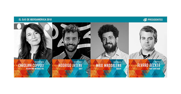 El Ojo 2018 anuncia los presidentes del jurado de cuatro de sus secciones