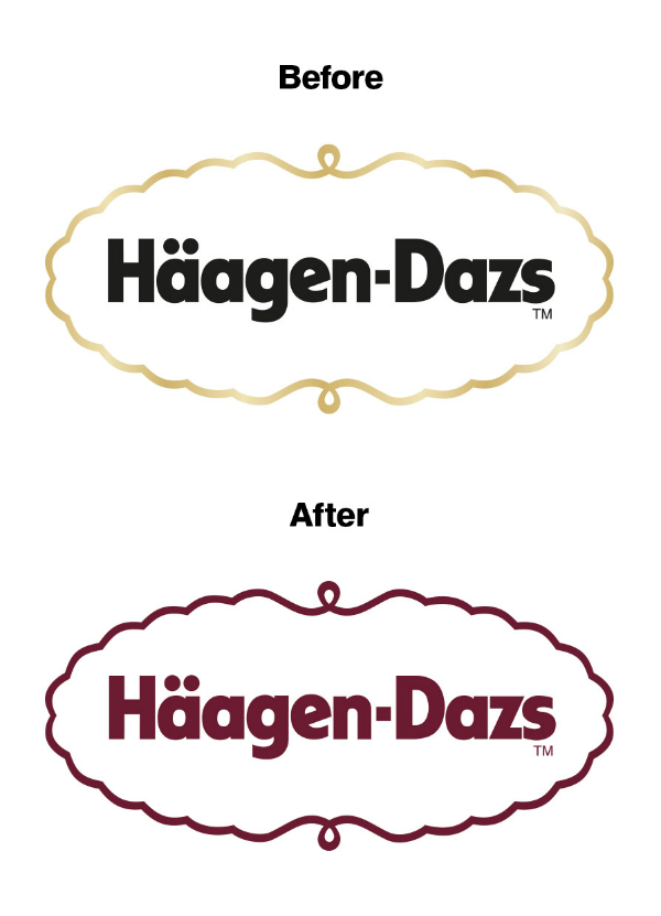 Häagen-Dazs rediseña su logotipo adaptándolo a Instagram