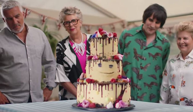 """El nuevo y divertido spot de """"The Great British Bake Off"""", recién sacado del horno"""