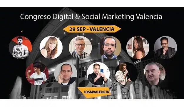 Todo listo para el Congreso Digital & Social Marketing Valencia 2018
