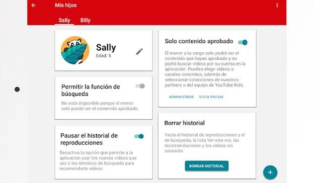 YouTube Kids permite con su nueva función que los padres seleccionen el contenido que ven sus hijos