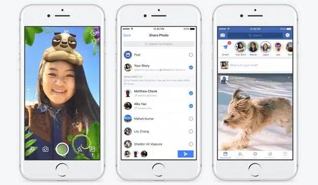 Los anuncios en Facebook Stories ya están disponibles para todos sus anunciantes