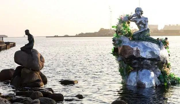 Carlsberg presenta su propia sirena en Copenhague