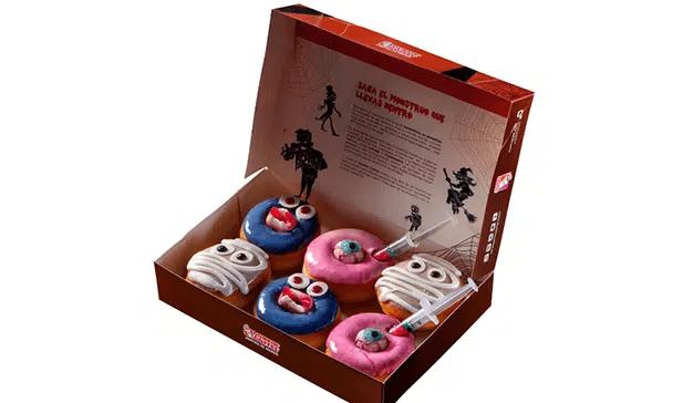 Dunkin' Coffee lanza su colección de Halloween