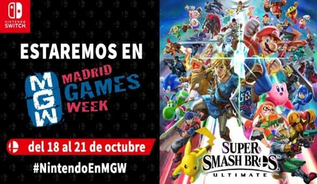 Nintendo gran presencia en la Madrid Games Week