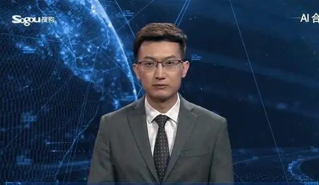 Una agencia de noticias china crea al primer presentador de noticias generado con inteligencia artificial