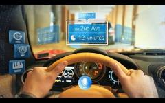 Driving GPS Navigation Infinity Augmented Reality