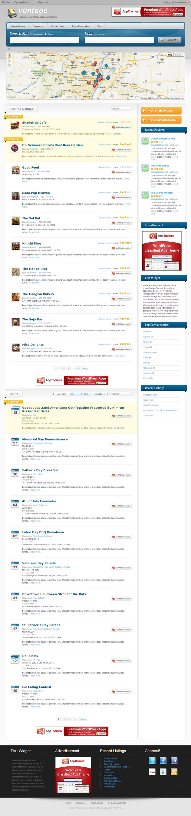 Download Best Directory Listing Themes for WordPress