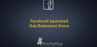 Facebook Launched Ads Relevancy Score
