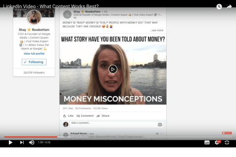Linkedin Video - What Content Works Best