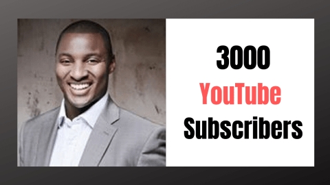 3000 Subscribers: We Made it!