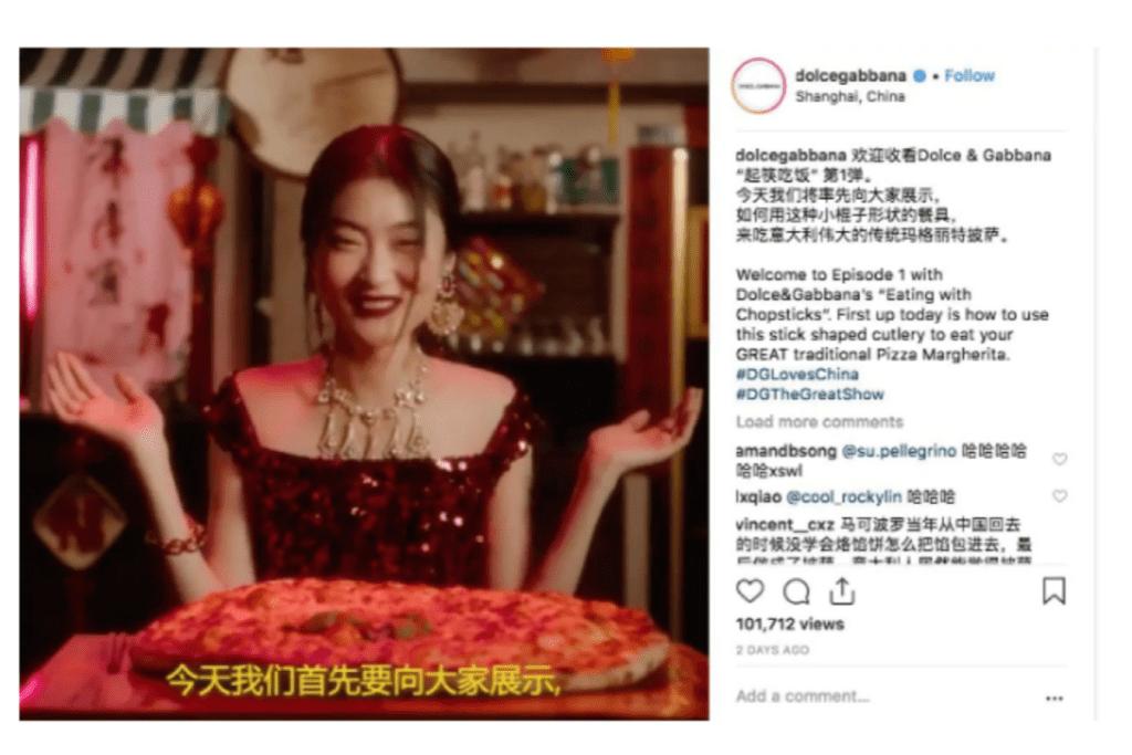 D&G China Ad