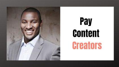 Should all Social Media Platforms pay Content Creators?