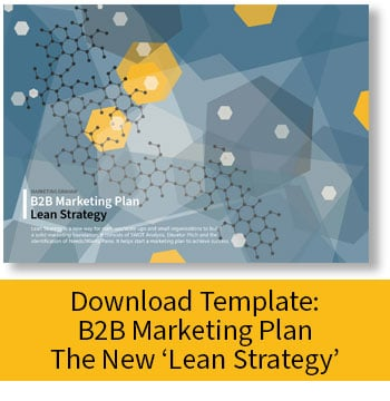 Download: B2B Marketing Plan - Lean Strategy