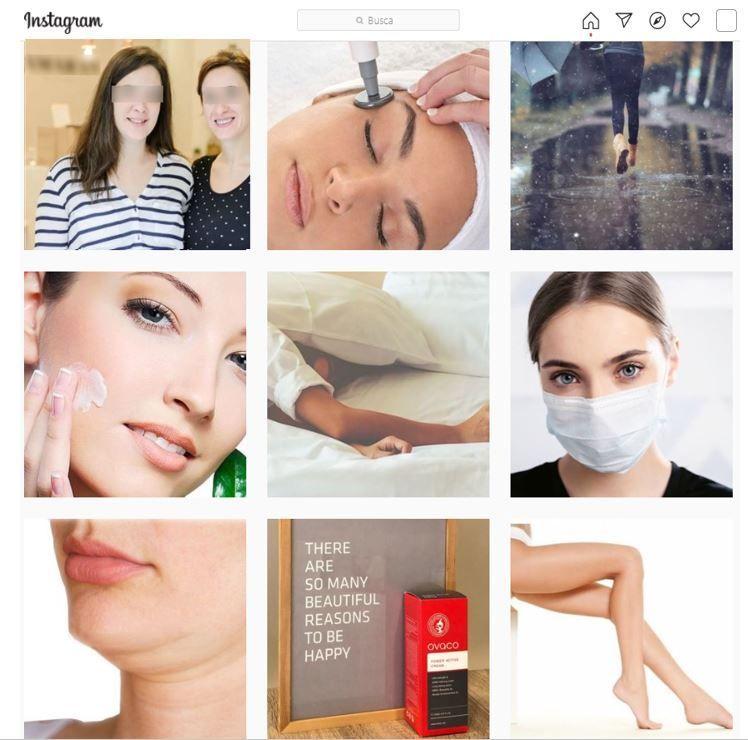 Instagram para clínicas de estética