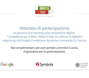web marketing per il made in italy
