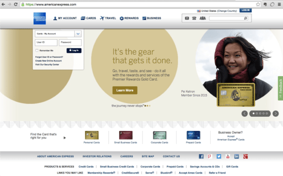 amex-front-page