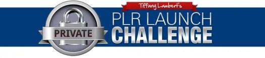 tiffany lambert's plr launch challenge