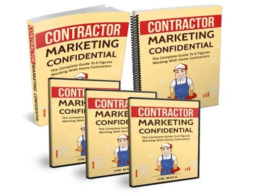 Contractor Marketing Confidential